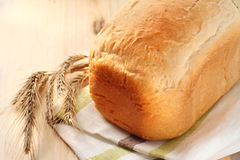 Loaf of wheat bread Royalty Free Stock Photos