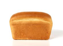 Loaf of white bread Stock Photography