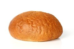 Loaf of white bread Stock Photo
