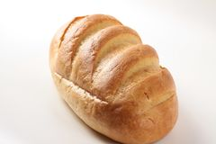 Loaf of white bread Royalty Free Stock Images