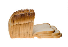 Loaf of white bread Stock Image