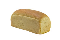 Loaf of white bread Royalty Free Stock Photo