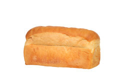 Loaf of white bread Stock Images