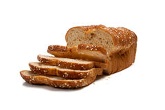 Loaf of whole grain bread Royalty Free Stock Photo
