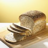 Loaf of Whole Grain Bread Stock Photos