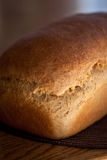 Loaf of whole wheat bread. Wholesome loaf of homemade whole wheat bread fresh out of the oven Royalty Free Stock Photography