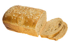 Loaf of whole wheat sunflower bread Stock Image