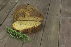 Loaf of wholemeal brown bread Stock Image