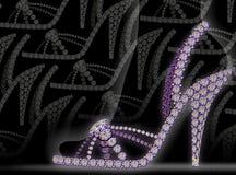 loafers диаманта Стоковая Фотография RF