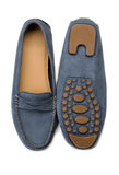Loafers pair isolated Stock Photos