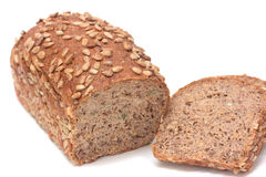 Loafs of black bread Royalty Free Stock Images