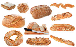 Loafs of bread Royalty Free Stock Photos