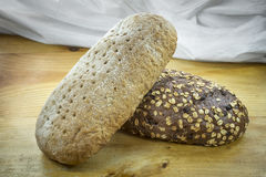 Loafs of bread Royalty Free Stock Photography