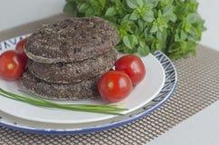 Loafs do pão de centeio Fotografia de Stock