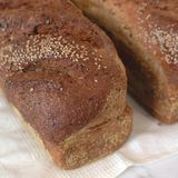 Loafs do pão inteiro Imagem de Stock