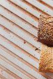Loafs frescos do baguette Imagens de Stock Royalty Free