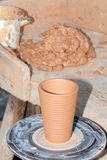 Loam pottery Stock Photos