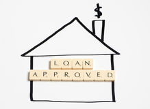 Loan approved Royalty Free Stock Photography