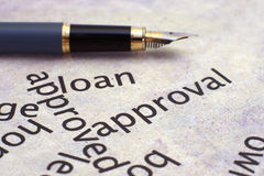 Loan concept Stock Photography