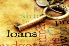 Loan concept Royalty Free Stock Image