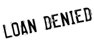 Loan denied rubber stamp Stock Images