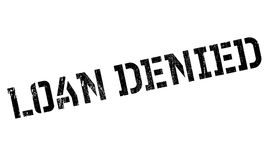 Loan Denied rubber stamp. Grunge design with dust scratches. Effects can be easily removed for a clean, crisp look. Color is easily changed vector illustration