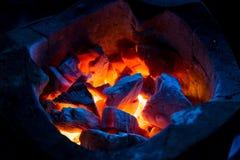 loan grå lampa för brand den wood vedtraven Arkivfoto