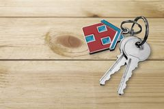 Loan. Key house home interior key ring security safety stock photography