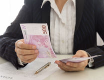 Loan money Stock Photography