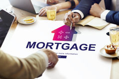 Loan Mortgage Payment Property Concept.  Royalty Free Stock Photo