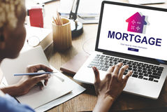 Loan Mortgage Payment Property Concept. Loan Mortgage Payment Property Finance stock images