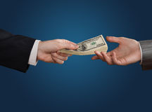 Loan offer Royalty Free Stock Photo