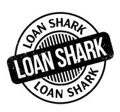 Loan Shark rubber stamp Royalty Free Stock Photography