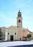 Loano church Royalty Free Stock Photography
