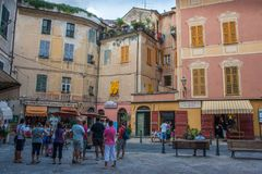 Loano. Is an unique village in Liguria, Italy. A nice town on the sea royalty free stock photos