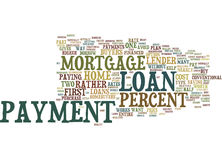 Loans Explained Text Background Word Cloud Concept Royalty Free Stock Photos