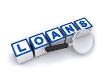 Loans royalty free illustration