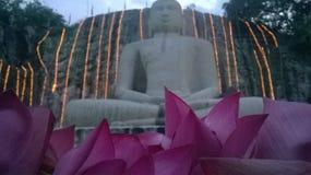 loard Budhdha Viaggiando un altro posto Sri Lanka fotografie stock