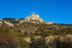 Loare castle, Huesca, Aragon, Spain Royalty Free Stock Photo