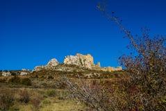 Loare castle, Huesca, Aragon, Spain Stock Photos