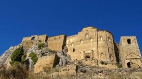 Loare castle, Huesca, Aragon, Spain Stock Images