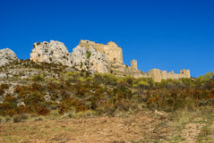 Loare castle, Huesca, Aragon, Spain Stock Photo