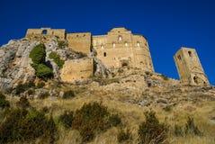 Loare castle, Huesca, Aragon, Spain Royalty Free Stock Image
