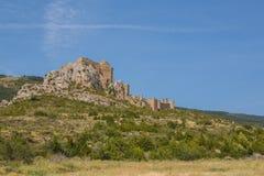 Loarre κάστρο Loarre, Ισπανία Στοκ εικόνα με δικαίωμα ελεύθερης χρήσης