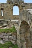 Замок монастыря Loarre (Уэска) стоковые фотографии rf