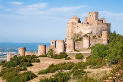 Loarre castle. Crusader fortress in Spain Stock Photo