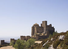 Loarre Castle. In Huesca, Spain Royalty Free Stock Images