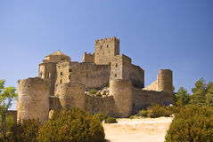 Loarre Castle. In Huesca, Spain Stock Images