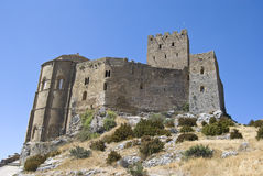 Loarre Castle. In Huesca, Spain Stock Photography