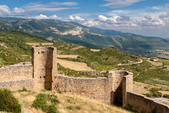 Loarre Castle in Aragon, Royalty Free Stock Images